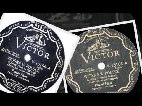 Polish 78rpm recordings, Victor 16166 Wiosna w Polsce