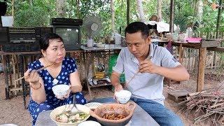 Ăn Cơm Với Cá Bống Kho Tiêu Và Canh Chua Tép   7 Thuận #77