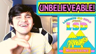 LSD - Mountains (feat. Sia, Diplo & Labrinth) REACTION!