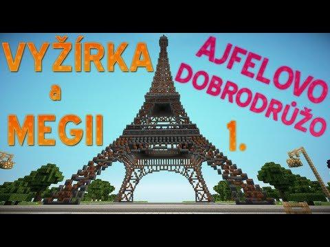#1 [Vyžírka & Megii] AJFELOVO DOBRODRŮŽO - Adolf a UFO