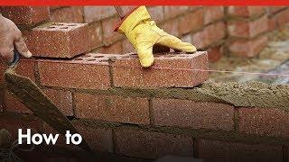 Bricklaying 101: How To Build A Brick Wall - DIY At Bunnings