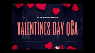 Valentines Day Q & A