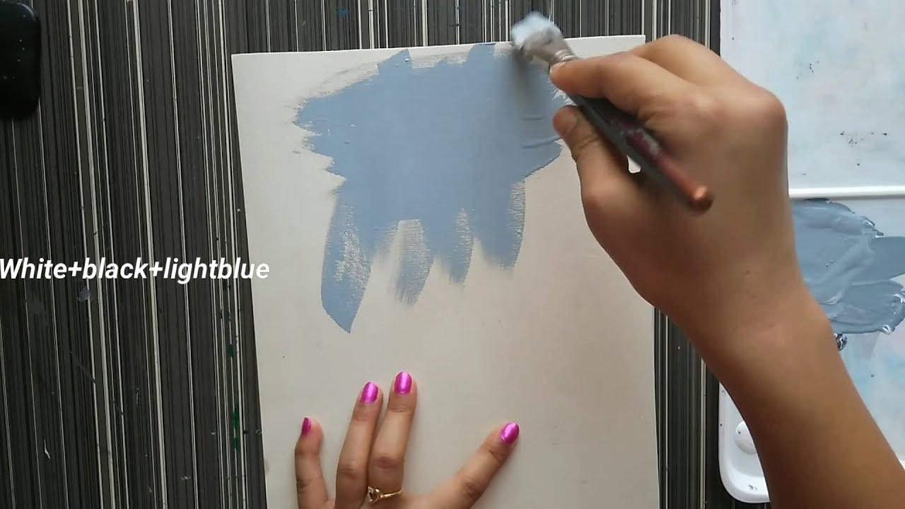 painting rainy season scenery video tutorial by priya