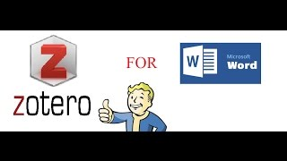 Tutorial 2: How to use Zotero for citation in Microsoft Word