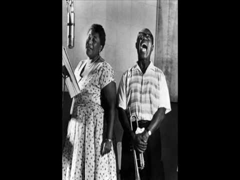 Louis Armstrong And Ella Fitzgerald They Can't Take That Away From Me - Samarcticmonkey