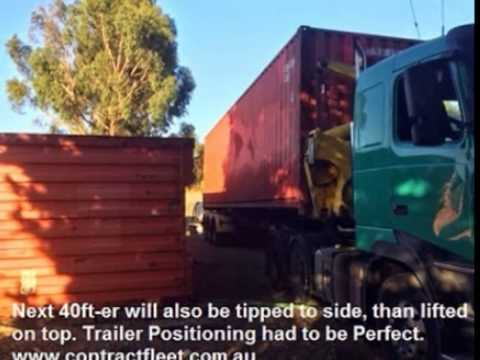 Contract Fleet Pty Ltd – Container Handling