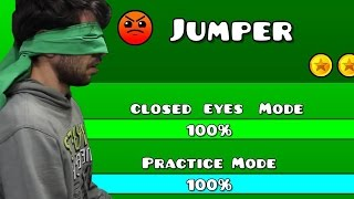 Geometry Dash - Level Seven Closed Eyes
