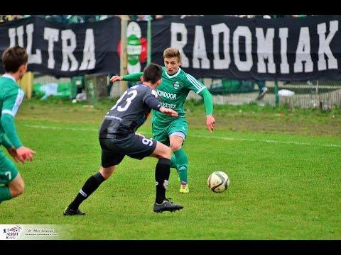 Bramki z mecz Radomiak Radom - Stomil Olsztyn 1:2