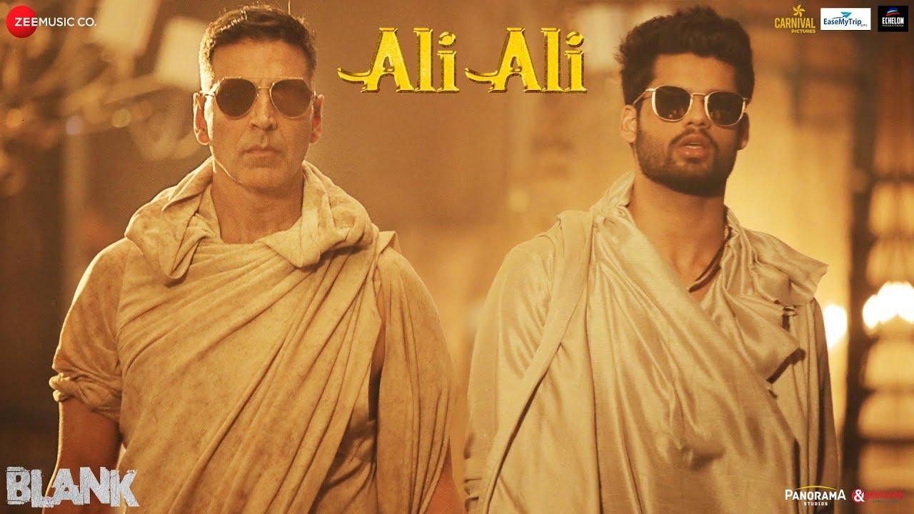 Ali Ali Song – Blank |  Akshay Kumar, Sunny Deol, Karan Kapadia