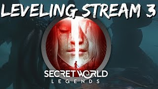 Secret World Legends Leveling Stream #3 - Great Aurum Crash, Polaris First Dungeon & Level 10 PvP!
