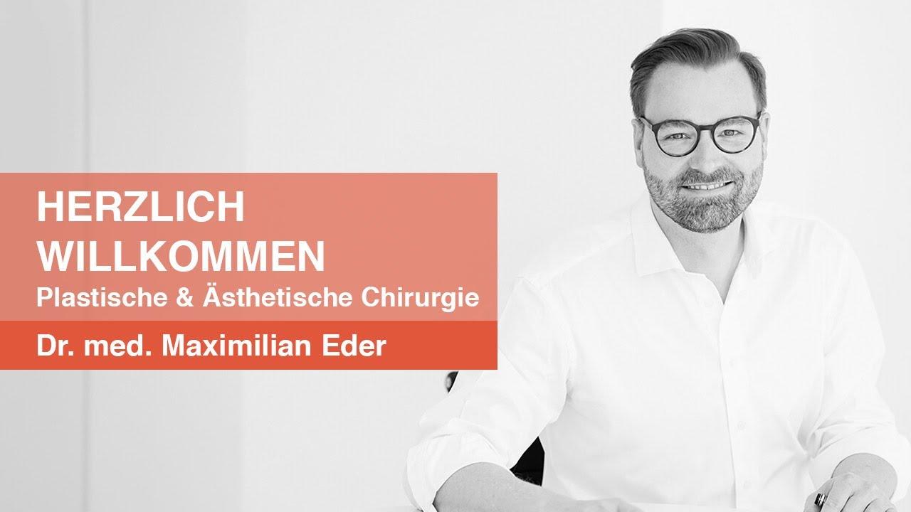 PD Dr. med. Maximilian Eder - Willkommen - eine kurze Vorstellung.