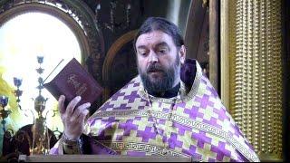 О мужчинах в Храме, молитве и субботе.  Прот.Андрей Ткачёв (04.03.2017г.)