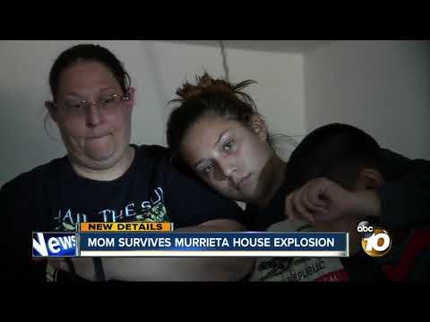 Mom survives Murrieta house explosion