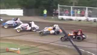 Creek County Non-Wing Champ Sprints 9/20/14 Heat #1