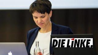 *NEWS - Rückzug der AfD! Rücktritt von Frauke Petry! Will Frauke Petry jetzt zu den Linken?