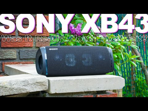 External Review Video Exsyg6XaDKQ for Sony SRS-XB43 EXTRA BASS Wireless Speakers