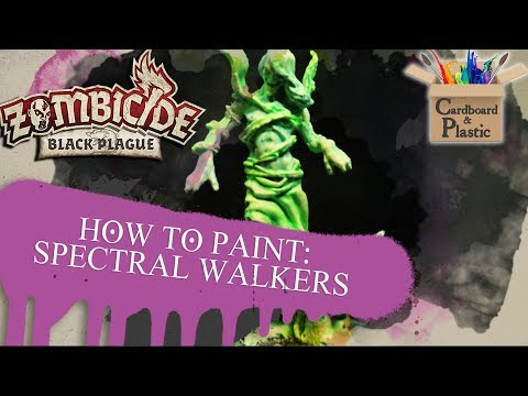 Zombicide Painting Tutorial Episode 1: Spectral Walker