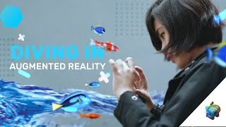 DIVING IN AUGMENTED REALITY! : Assemblr