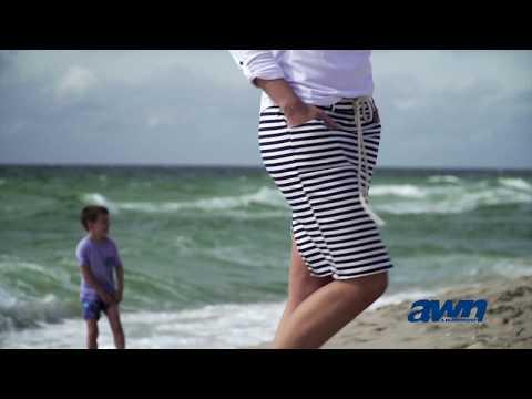AWN // Ocean One: maritime Mode für Damen: Rock