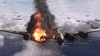 二战美军B17G轰炸机欧洲作战,投下58万吨炸弹,4750架被打报废,相当于40多枚广岛原子弹