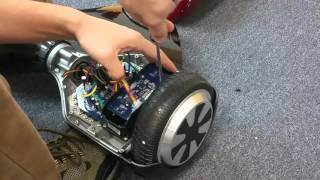 How To Replace Gyroscope In Hoverboard - Wheel Not Spinning - How To Tutorial