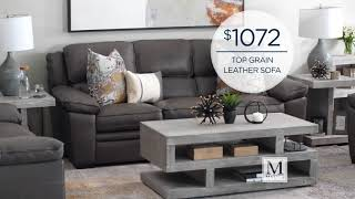 Save On Leather Sofas Www.mathisbrothers.com