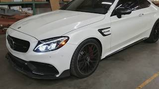 2017 Mercedes Benz C63S Coupe with FI Downpipe & Stage 2 Tune