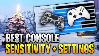 BEST Fortnite SENSITIVITY + SETTINGS For Season 7! (PS4 + Xbox Fortnite Battle Royale)
