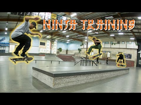 How To Be A Ninja With JP Souza, Marquise Henry & Taylor McClung | Ninja Training