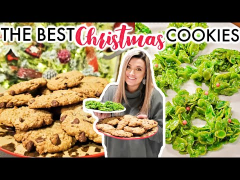 CHRISTMAS COOKIES | OUR FAVORITE HOLIDAY COOKIE RECIPES | CookCleanAndRepeat