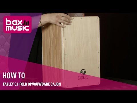 How To: Fazley CJ-FOLD opvouwbare cajon