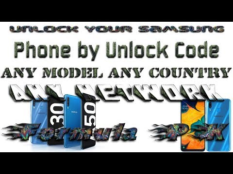 Download How To Unlock Network Lock Pin On Samsung Video 3GP Mp4 FLV