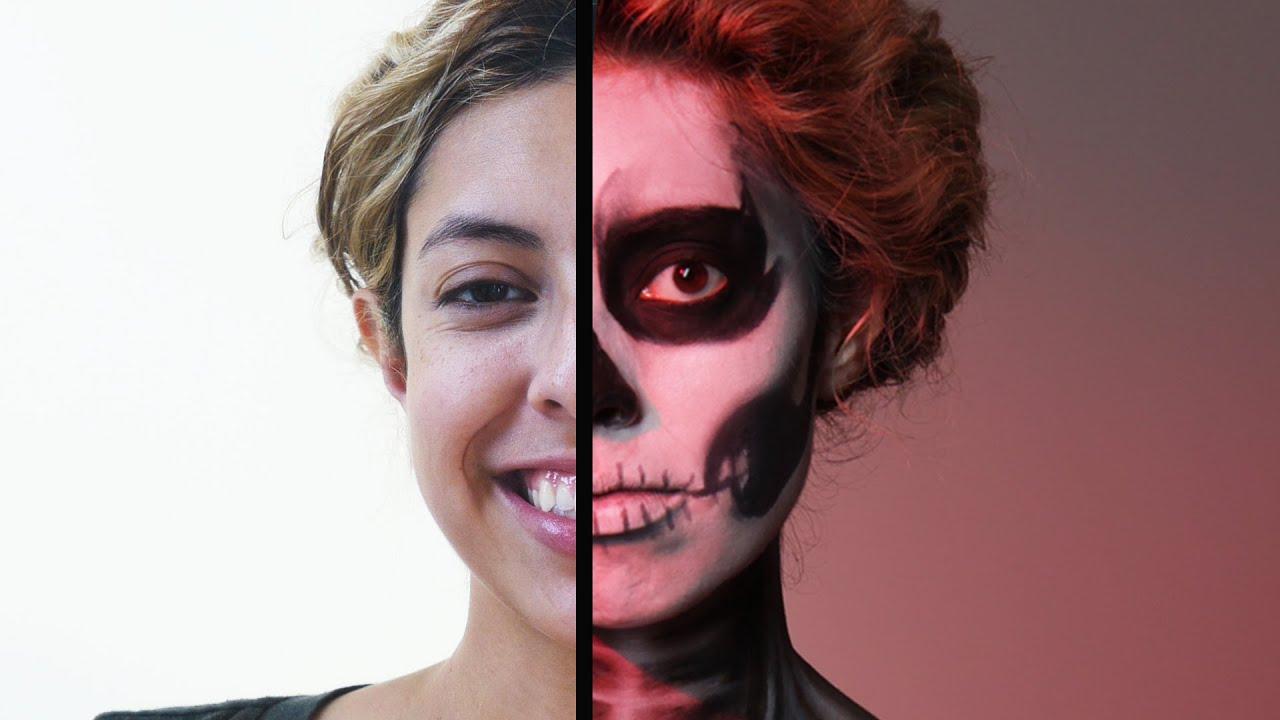 Skeleton Makeup Tutorial thumbnail