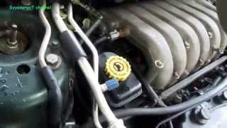 1999 Chrysler Sebring, Emissions Sensors Locations