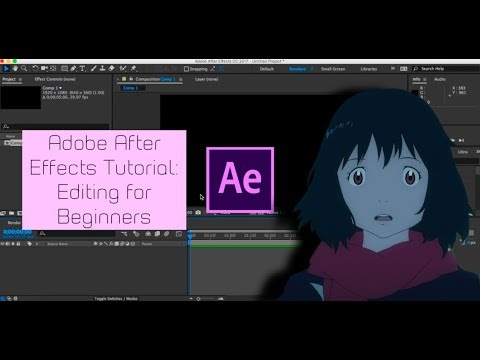 Adobe After Effects Tutorial: Editing for Beginners