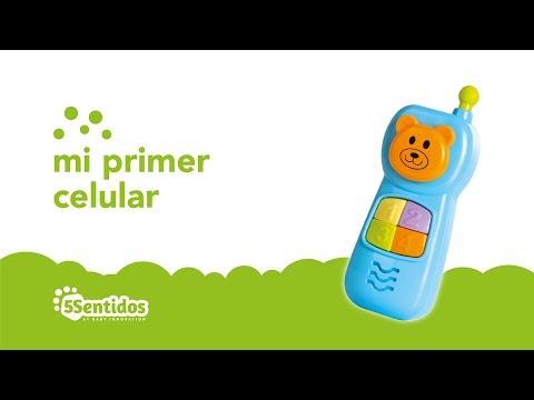 Celular didáctico con luces Baby Innovation Celeste video