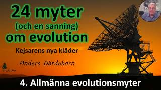 Thumbnail for video: Myter om Evolution - 4. Allmänna myter