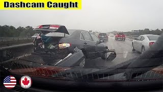 Ultimate North American Cars Driving Fails Compilation - 23 [Dash Cam Caught Video]