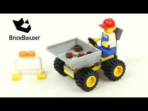 Vidéo LEGO City 30348 : Mini Dumper (Polybag)