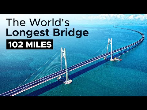 At 102 Miles, This Bridge Is an Engineering Marvel