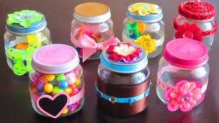 DIY Decorated Re-purposed Baby Food Jars - Simplekidscrafts