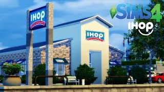 The Sims 4: IHOP Speed Build {Lot + CC Download}
