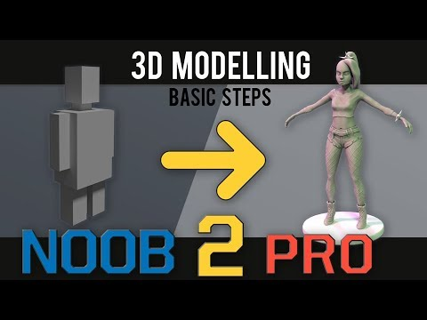 3d modelling tutorial easy to professional by grant abbitt