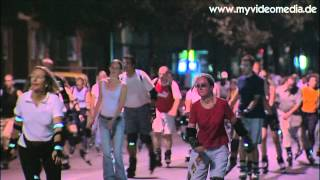 preview picture of video 'Blade Night (Skatenight), Munich - Germany Travel Channel'