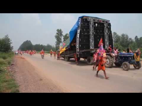 bhole baba ki vishal kavad in haridwar and DJ