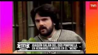 Pimpinela En Chile. Programa Menu A La Carta De TVN