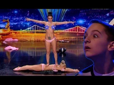 Сексуальная силовая акробатика от дуэта Wild girls - Україна має талант-6 - Кастинг в Одессе