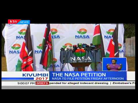 NASA's petition against President Uhuru to be filed at the Supreme Court by Friday