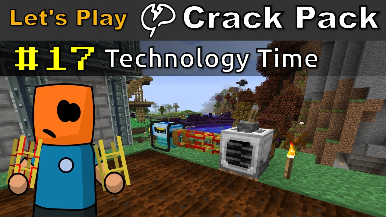 Minecraft - CrackPack #17 | Technology Time