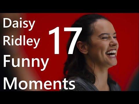 Daisy Ridley Funny Moments 17